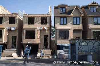 CMHC says annual pace of housing starts climbed higher in October - Rimbey Review