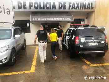 Casal é preso por homicídio após polícia descobrir triângulo amoroso em Faxinal - CGN