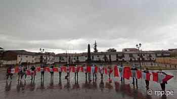 Chachapoyas: Lavado de bandera y vigilia en homenaje a Inti Sotelo y Bryan Pintado [Fotos y vídeos] - RPP Noticias