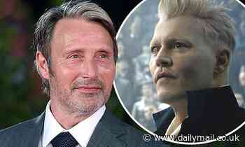 Mads Mikkelsen says its on a 'rumor basis' that he will replace Johnny Depp in Fantastic Beasts