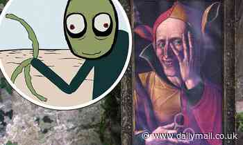 I'm A Celebrity: Viewers claim painting sounds like Salad Fingers