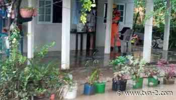 Cinco viviendas afectadas por inundación en Tonosí - TVN Noticias