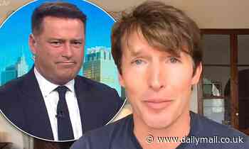 James Blunt reveals what REALLY happened during a 'wild night out' with Karl Stefanovic