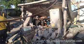 Explota casa en Navolato y deja tres personas lesionadas - Linea Directa