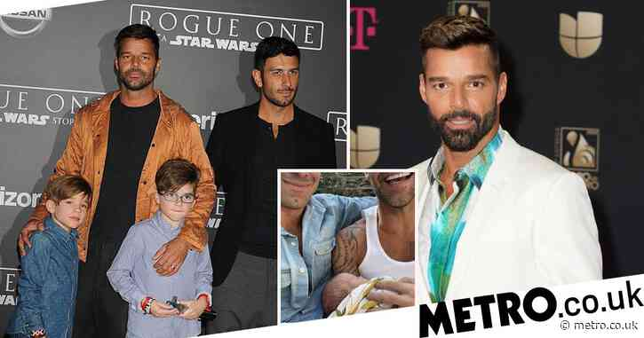 Ricky Martin reveals he was 'couple of embryos waiting' if he decides he wants more kids