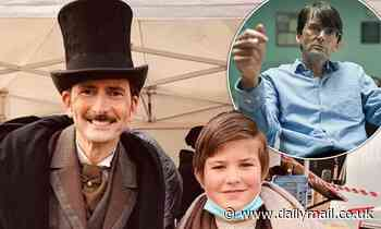 Around the World in 80 Days: David Tennant on set as Phileas Fogg