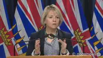Provincial health officer Dr. Bonnie Henry announces B.C. mask mandate