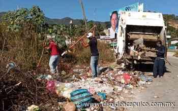 Clausuran otro tiradero clandestino en Llano Largo - El Sol de Acapulco