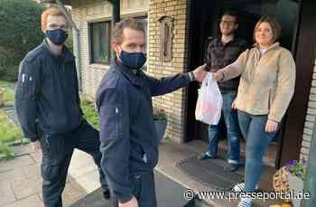 FW-HAAN: Weckmänner für die Feuerwehrangehörigen - Presseportal.de