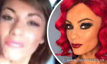 Dianne Buswell looks unrecognisable without red hair in throwback video