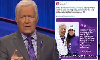 Alex Trebek sends out a special message on World Pancreatic Cancer Day