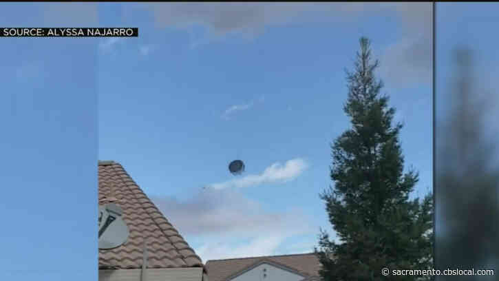 Wild Winds Launch Trampoline Into Sky, NWS Says Downburst Winds Caused Damage In Lincoln
