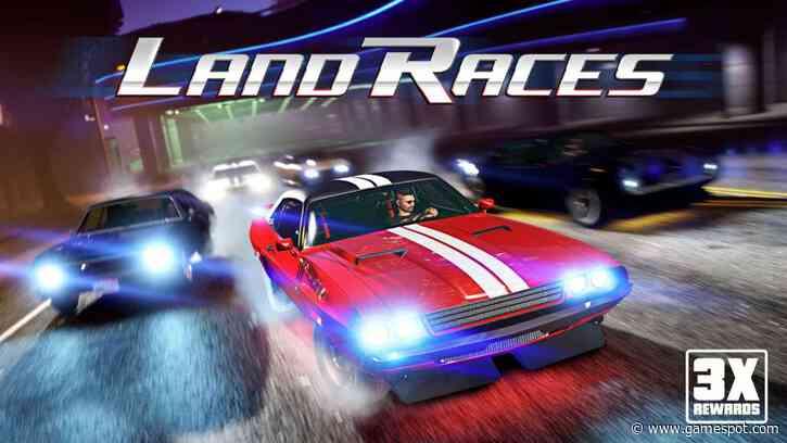 GTA 5 Online Has Triple Rewards For Land Races This Week