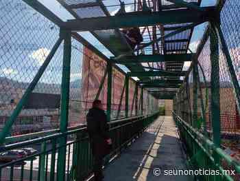 Joven intenta lanzarse de un puente en Coacalco - SéUnoNoticias