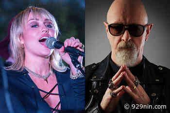 Judas Priest's Rob Halford is Very Excited for Miley Cyrus' Metallica Covers Album - 929nin.com