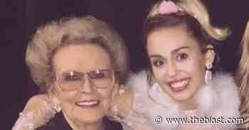Miley Cyrus Inherits A Portion Of Late Grandma's Estate - The Blast
