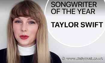 Taylor Swift named Songwriter Of The Year at 2020 Apple Music Awards for successful Folklore album