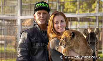 Jeffrey Lowe of Tiger King and wife Lauren are sued by US Justice Department over alleged violations