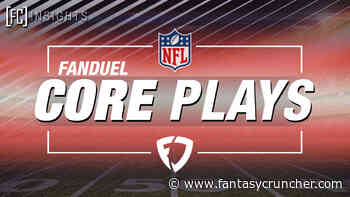 11/20: Fantasy Cruncher- NFL DFS Core Plays for FanDuel – Week 11 2020 (11/22/2020)