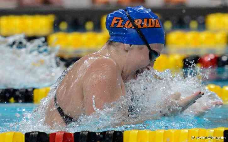 Auburn Fall Invite Day 2 Finals: FR Cecilia Porter Sets 100 BR Florida Record