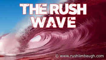The Rush Wave Overwhelmed the Cheating Algorithm - Rush Limbaugh