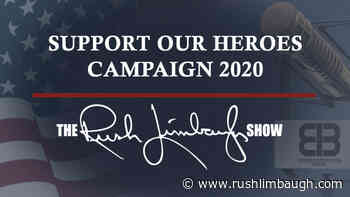 15 More Checks for the Support Our Heroes Campaign - Rush Limbaugh