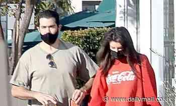 Jesse Metcalfe has casual breakfast date with girlfriend Corin Jamie-Lee Clark in West Hollywood