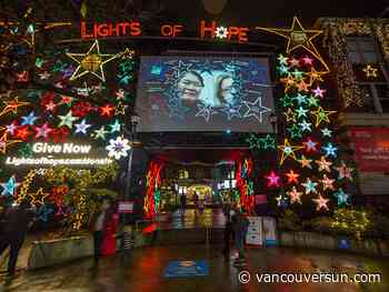 Photos: St. Paul's Foundation Lights of Hope brightens downtown Vancouver
