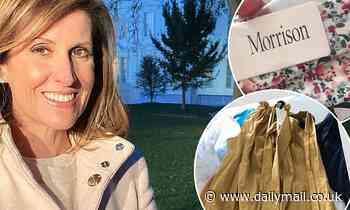 Sunrise's Natalie Barr, 52, gets a surprise designer dress in hotel quarantine