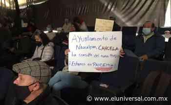 Vecinos exigen cancelar consulta del Plan Municipal de Desarrollo Urbano en Naucalpan | El Universal - El Universal