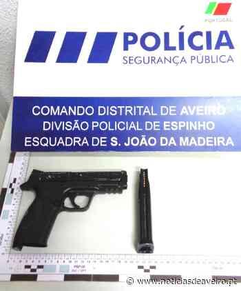 PSP identificou homem que exibia arma proibida - Notícias de Aveiro