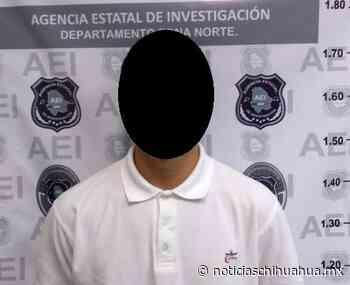 Detienen a presunto implicado en homicidio ocurrido en San Agustin - Noticias Chihuahua