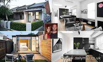 Lauren Phillips and ex-husband Lachlan Spark's Fitzroy home is up for auction next month