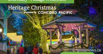 Global BC sponsors Heritage Christmas at Burnaby Village Museum