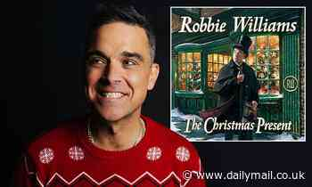 Robbie Williams releases cheeky festive track Can't Stop Christmas