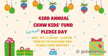 Global BC supports CKNW Kids' Fund 43rd annual Pledge Day