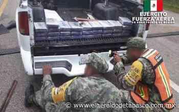 Incauta Sedena casi 15 mdp en droga en El Ceibo, Tenosique - El Heraldo de Tabasco