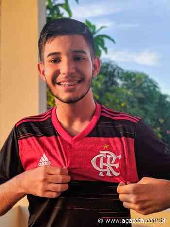 Cartoleiro de Baixo Guandu ganha camisa do Flamengo na Liga da Rede Gazeta - A Gazeta ES