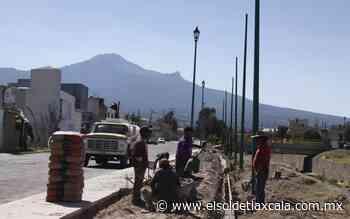 Disponen de 50 días para para concluir la ciclopista de Huamantla - El Sol de Tlaxcala