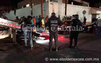 Conductor embiste a vendedores, en Huamantla - El Sol de Tlaxcala