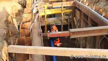 Straßenbau: Wieder ein Stück erneuerte Gehwege für Herzberg - Lausitzer Rundschau