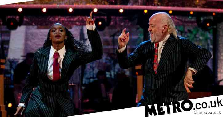 Strictly Come Dancing's Bill Bailey and Oti Mabuse have a new fan in Janet Jackson after epic Rapper's Delight routine