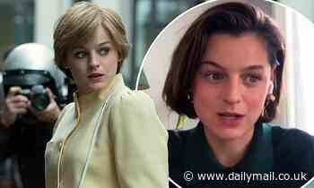 The Crown's Emma Corrin reveals she secretly battled whooping cough during filming