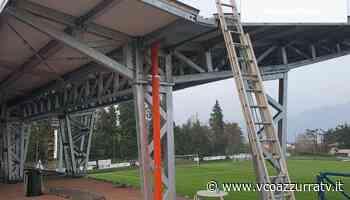 Stadio Baveno, si sta realizzando la tribuna coperta - Azzurra TV