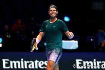 Rafael Nadal needed three sets to beat Stefanos Tsitsipas to semi-finals