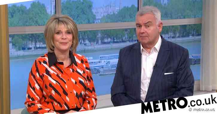 Eamonn Holmes and Ruth Langsford presenting This Morning amid rumours of 'axe'