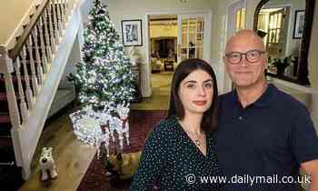 Gregg Wallace, 56, unveils his cosy Christmas decorations