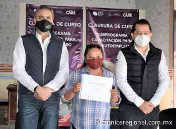 Clausuran cursos de autoempleo en Cadereyta de Montes - Crónica Regional