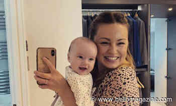 Ola Jordan melts hearts with gorgeous new photo of her mini-me Ella