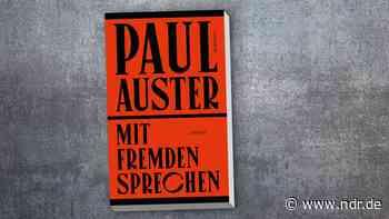 """Textsammlung von Paul Auster: """"Mit Fremden sprechen"""" - NDR.de"""